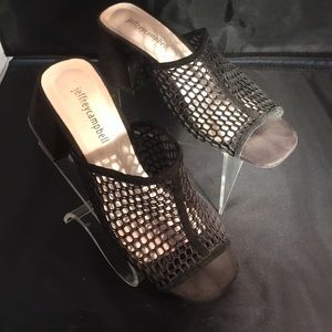 Jeffrey Campbell slide sandals size 8.5